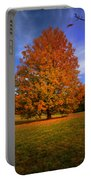 Last Call Of Fall Portable Battery Charger