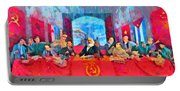 Last Communist Supper 10 Colorful - Da Portable Battery Charger