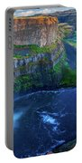 Last Light On Palouse Falls Portable Battery Charger