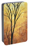 Last Tree Standing By Madart Portable Battery Charger