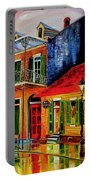 Late On Bourbon Street Portable Battery Charger