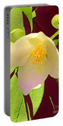 Late Spring Flower Portable Battery Charger