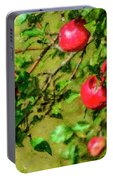 Late Summer Apples Portable Battery Charger