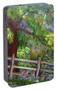 Late Summer At Pennypack Preserve Portable Battery Charger