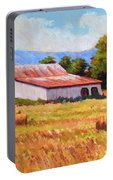 Late Summer Hay Portable Battery Charger