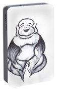 Laughing Buddha Portable Battery Charger
