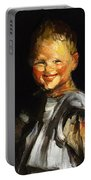 Laughing Child 1907 Portable Battery Charger