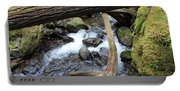 Laughingwater Creek Under Log Portable Battery Charger