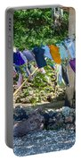 Laundry Drying In The Wind Portable Battery Charger
