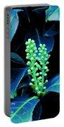 Laurel Flower Buds Portable Battery Charger