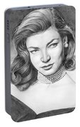 Lauren Bacall Portable Battery Charger