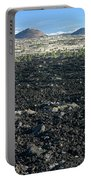 Lava Flow And Schonchin Butte, Lava Beds Nm, California, Usa Portable Battery Charger