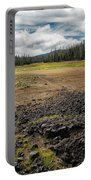 Lava Flow At Hand Lake Portable Battery Charger
