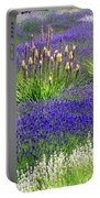 Lavender And Flowers Oh My Portable Battery Charger