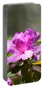Lavender Rhododendrun Portable Battery Charger