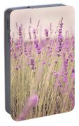 Lavender Blossom Portable Battery Charger