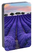 Lavender Portable Battery Charger