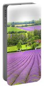 Lavender Farms In Sevenoaks Portable Battery Charger