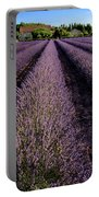Lavender Field Provence France Portable Battery Charger