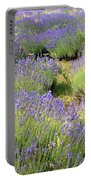 Lavender Field, Tihany, Hungary Portable Battery Charger