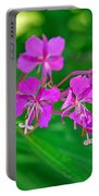 Lavender Fireweed Portable Battery Charger
