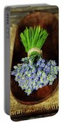 Lavender Flower  Portable Battery Charger