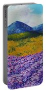 Lavender In Provence Portable Battery Charger