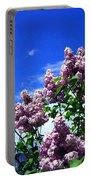 Lavender Lilacs Portable Battery Charger