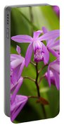 Lavender Orchid Portable Battery Charger