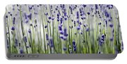 Lavender Patterns Portable Battery Charger
