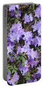 Lavender Rhododendrons Portable Battery Charger