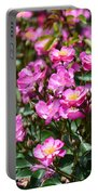 Lavender Roses Portable Battery Charger