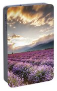 Lavender Sun Portable Battery Charger