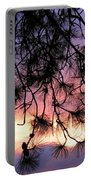 Lavender Sunset Portable Battery Charger