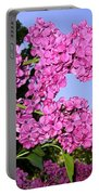 Lavish Lilacs Portable Battery Charger
