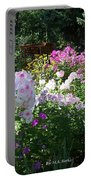Layered Florals Portable Battery Charger