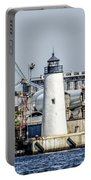 Lazaretto Point Lighthouse Portable Battery Charger