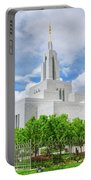 Lds Draper Temple Portable Battery Charger