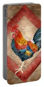Le Coq - Timeless Rooster  Portable Battery Charger