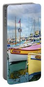 Le Fortune At Nice Harbor, France Portable Battery Charger