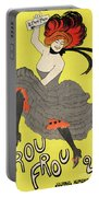 Le Frou Frou Vintage Poster By Leonetto Cappiello, 1899 Portable Battery Charger