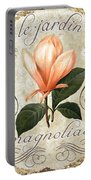 Le Jardin Magnolias Portable Battery Charger