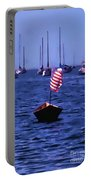 Leader Of The Pack- Bristol Rhode Island Oil Effect Portable Battery Charger