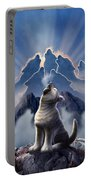 Leader Of The Pack Portable Battery Charger by Jerry LoFaro