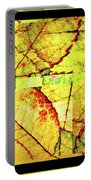 Leaf Abstract Portable Battery Charger