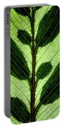 Leaf Detail Portable Battery Charger