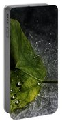 Leaf Droplets Portable Battery Charger