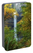 Leaf Peeping And Waterfall Portable Battery Charger