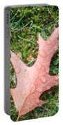 Leaf Resisting The Rain Portable Battery Charger