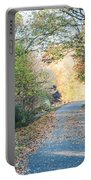 Leaf-strewn Path Portable Battery Charger